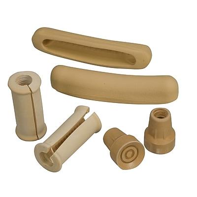 Briggs Healthcare 512-1424-0000 Crutch Accessory Kit, Brown