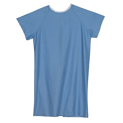 Briggs Healthcare Convalescent Gown Blue