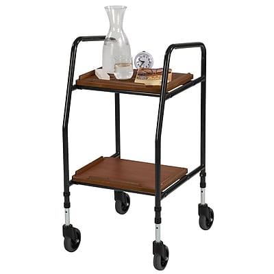 Briggs Healthcare Food Trolley Black & Laminate