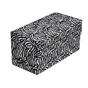 Briggs Healthcare HealthSmart Foldable Pattern Bed Wedge Zebra