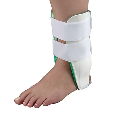 Briggs Healthcare Air Cast Ankle Braces Standard, Left