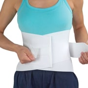 Briggs Healthcare Flex Lumbar/Sacral Belts White