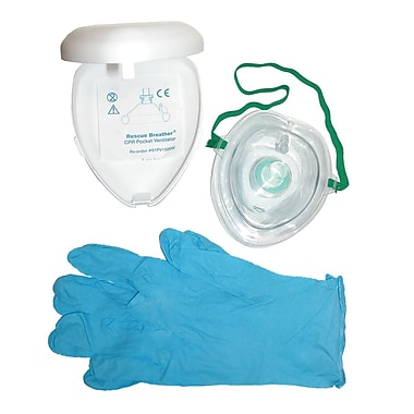 Briggs Healthcare Breater Adult Mask Set White