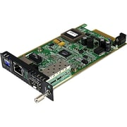 Startech.com® Gigabit Ethernet Fiber Media Converter Card Module With Open SFP Slot