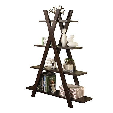 COASTER Bookcase Deep Cappuccino