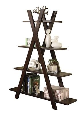 COASTER Bookcase Deep Cappuccino
