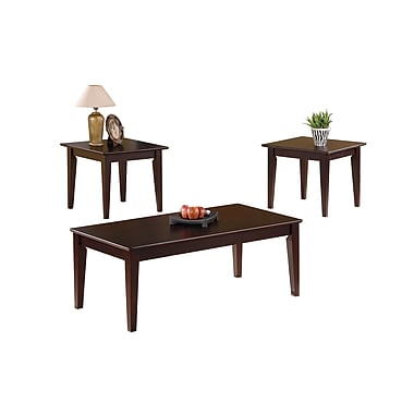 Coaster Sutton Wood/Veneer Sets Table, Cappuccino, Each (5880)