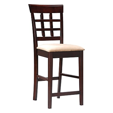 COASTER Back Bar Stool Open Grid