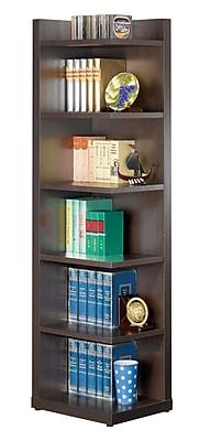 COASTER Bookcase Cappuccino