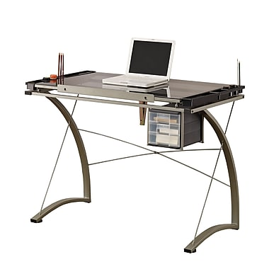 COASTER 41''Lx23.75''D Rectangular Drafting Table, Gray (800986)