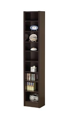 COASTER Bookcase, Cappuccino