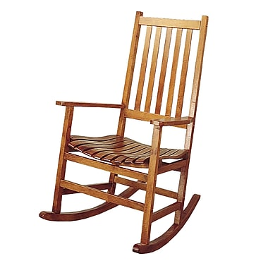 COASTER Wood Rocking Chair, Brown (4511)