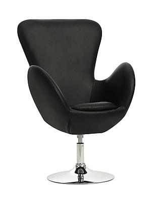 COASTER Accent Seating Fabric Accent Chair, Black (902100)