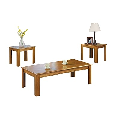 Coaster Wood/Veneer Sets Table, Oak, Each (5168)