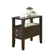"COASTER End Table Wood 24""H x 12""W x 24""D"