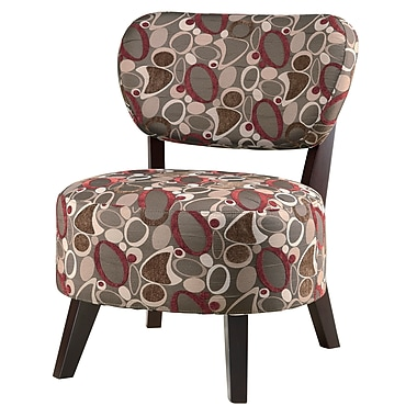 COASTER Fabric Oblong Accent Chair, Multi (900425)