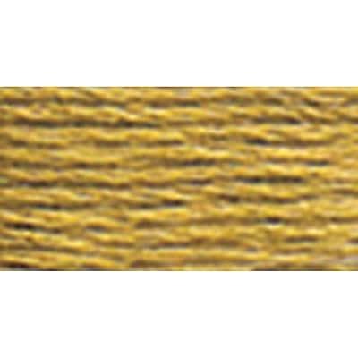 DMC Six Strand Embroidery Cotton, Dark Yellow Beige