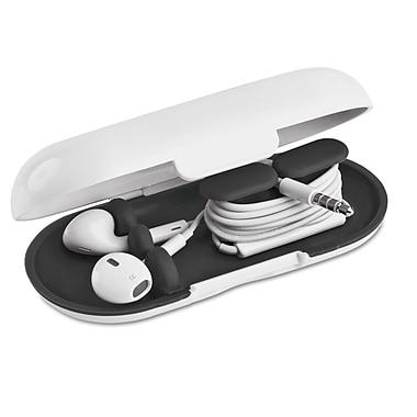Dotz™ Hardshell Earbud Case, Black