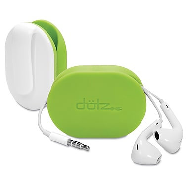 Dotz™ Flex Earbud Wrap, Lime Green