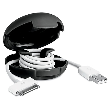 Dotz™ Cord Case Fits Up to 8' Cable, Black