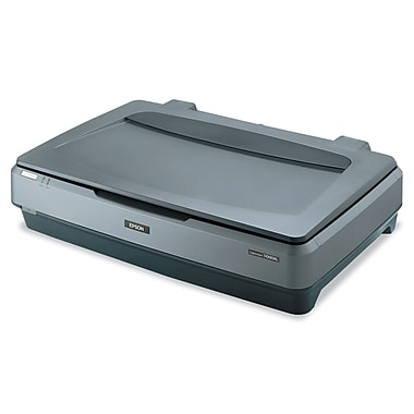 Epson Expression 11000XL Flatbed Color Image Scanner, Gray