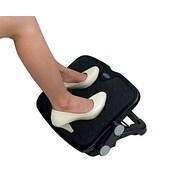 Aidata® Luxe Comfort Adjustable Footrest, Black