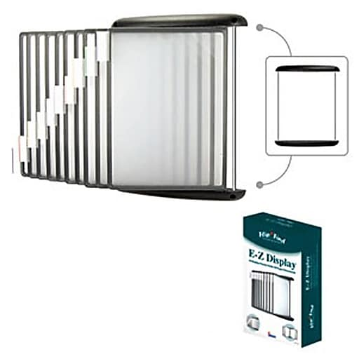 Aidata 174 E Z Wall Mount Reference Organizer With 10 Display