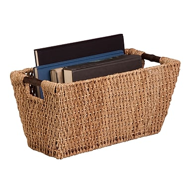 Honey Can Do® Seagrass Basket with Handles, Large
