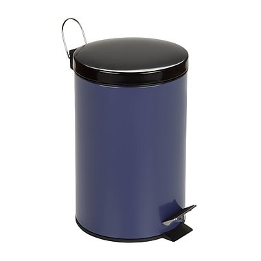 Honey Can Do® 20 Liters Step Trash Can, Purple