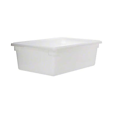 Cambro 18269P148, 13 Gal White Polycarbonate Food Storage Boxes, White