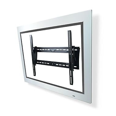 Atdec Telehook Wall tilt TV Mount Universal VESA, Security Feature, 200 lbs. capacity (TH-3070-UT)