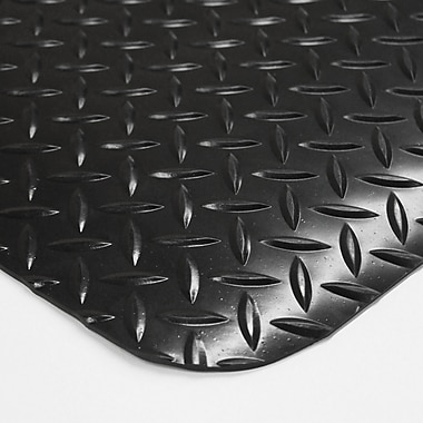 Floortex Industrial Cushion Anti-Fatigue Mats, Black