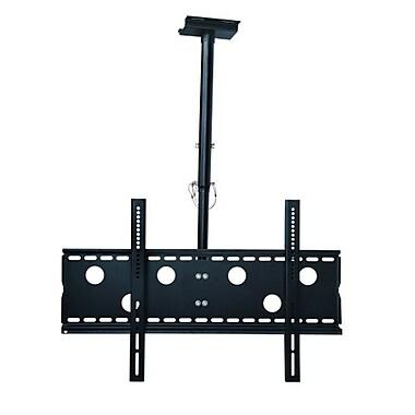 TygerClaw – Support de plafond inclinable pour téléviseur à écran plat de 42 à 70 po (CLCD104BLK)