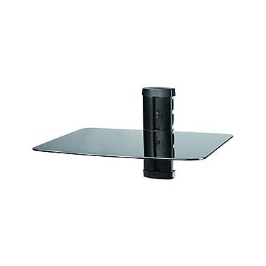 TygerClaw - Support à DVD à une tablette en verre noir, LCD8216BLK