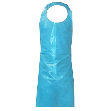 Ronco Polyethylene Disposable Apron, 28
