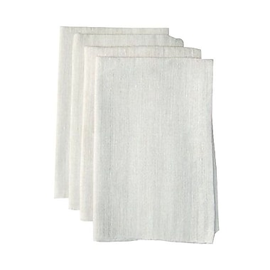 AGL Pur Value® 2-Ply 1/8 Fold Dinner Napkin, White