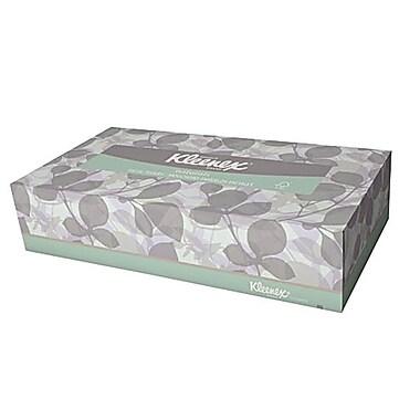 KleenexMD – Mouchoirs Naturals 2 épaisseurs 8,4 x 8 po, blanc, 48/paquet