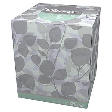 KleenexMD ® Mouchoirs Naturals Boutique 8,4 x 8,4 po, blanc, 36/paquet