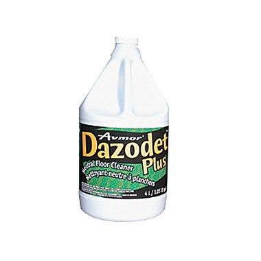 Avmor® DAZODET PLUS Neutral Floor Cleaner, 4L, 4/Case