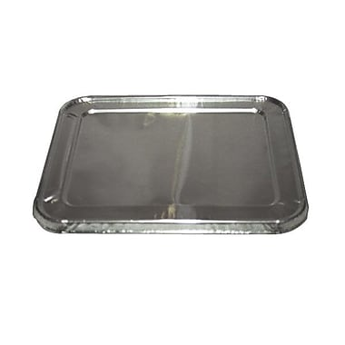 D & W® Aluminium Foil Lid For Half Size Steamtable Pan