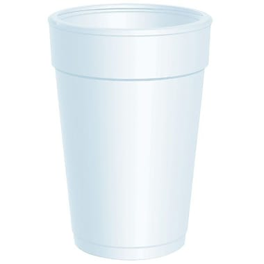 Dart® Big Drink Foam Cup, 14 oz., White