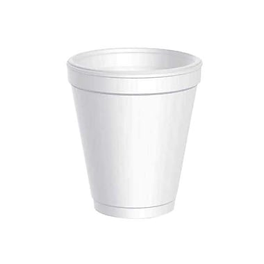 Dart® Conventional Drink Foam Cup, 8 oz.