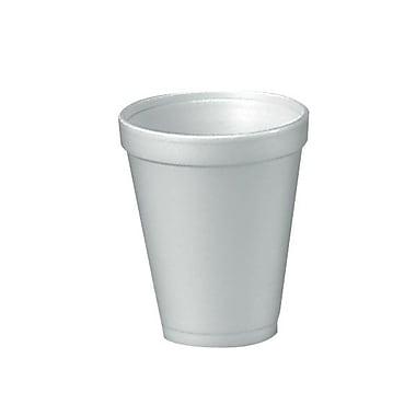Dart® Customizable Drink Foam Cup, 10 oz., White