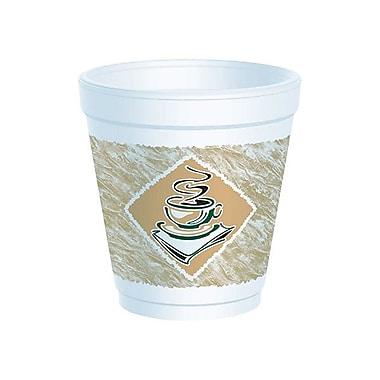 Dart® Gourmet Design Foam Cup, 10 oz.