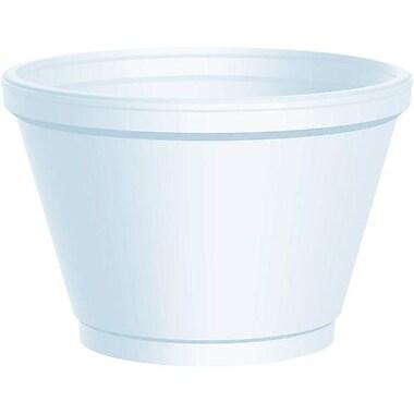 Dart® Foam Squat Container, 10 oz.