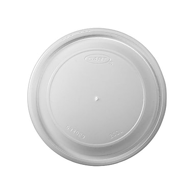 Dart Plastic Vented Dome Lid For 20 oz. Cups, Translucent