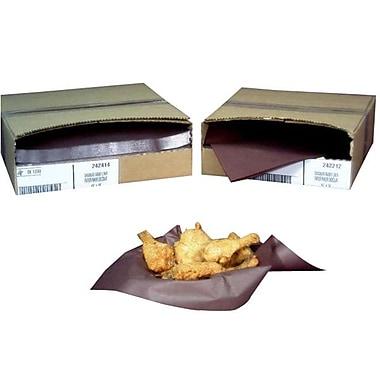 Doublure de panier, de luxe de 12 po x 12 po de papier chocolat, brun