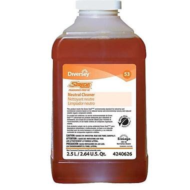 DiverseyMC – Nettoyant sans parfum Stride JFill, 2,5 L