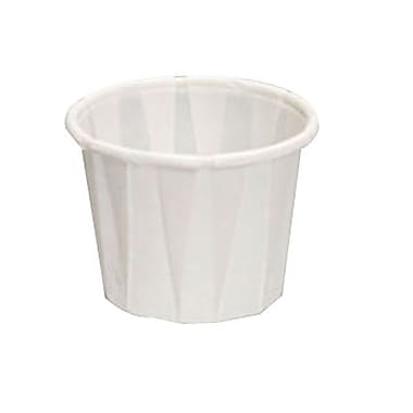 Genpak Pleated Paper Portion Cup, 1 oz.