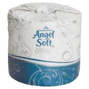 Georgia PacificMD ® Papier hygiénique Soft Ultra Premium gaufré, 4,5 x 4,05 po, blanc, 400 feuilles